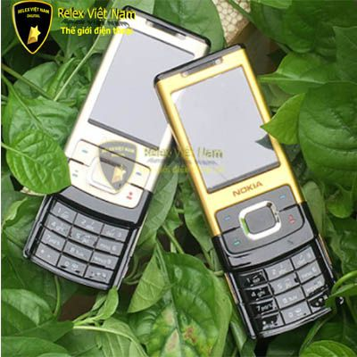 Nokia 6500 Slide Gold